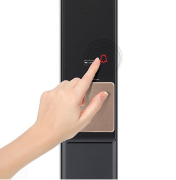 吸睛十足的三星DR708指纹锁使用评测