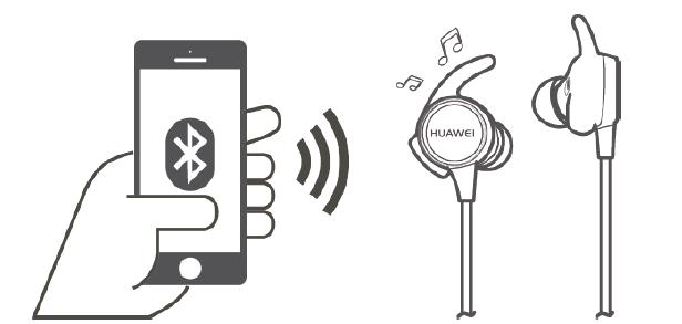 华为AM-R1心率耳机配对连接指南
