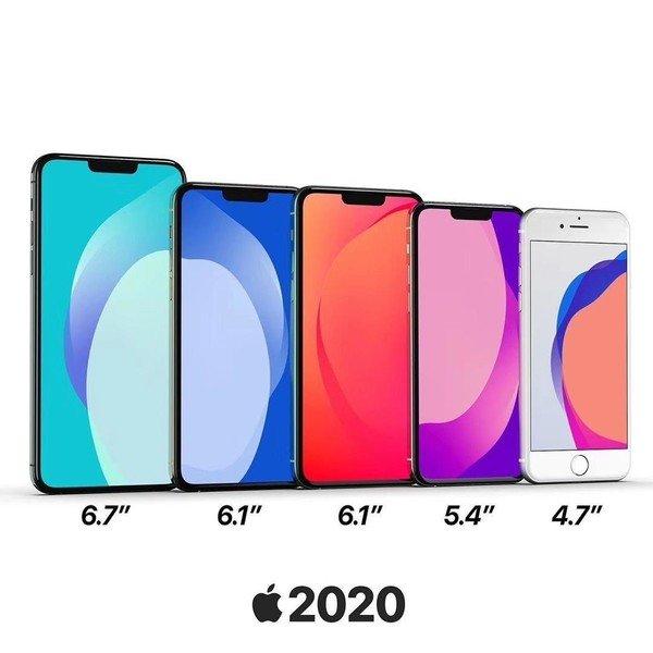 苹果今年发布6款iPhone:其中4款用OLED屏幕材质